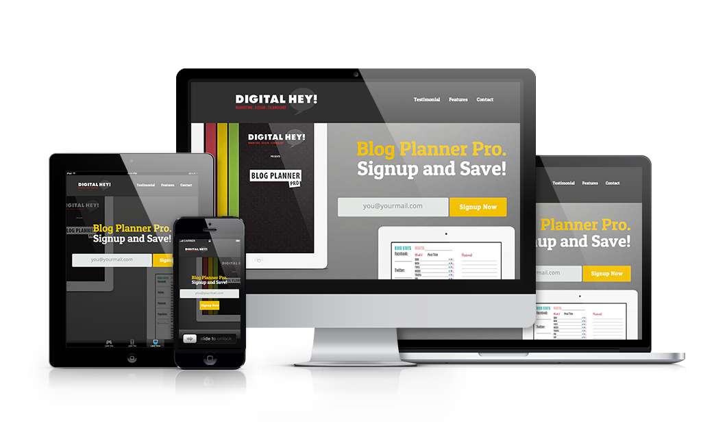 Barrie Web Design for Digital Hey